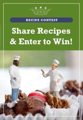 recipe contest ad image for natures habit